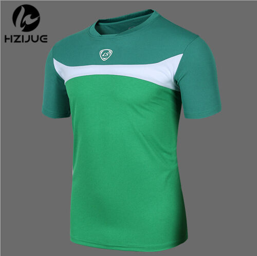HZIJUE Hot sale 2015 Summer Style Running t shirt Quick Dry Casual T-Shirts Outdoor Tees&Tops Slim Fit Sports Shirt(China (Mainland))