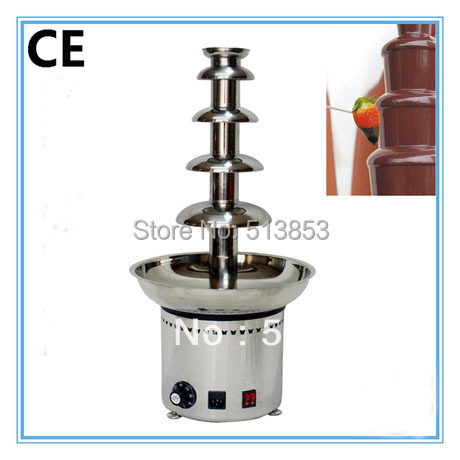CE Approved 5 tiers Commercial Chocolate Fountain<br><br>Aliexpress