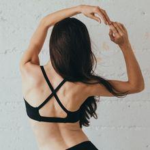 SZ TRT16021 Sports bra cross back support professional shockproof sports bra yoga jogging breathable wicking underwear