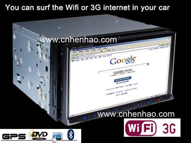 Last one sale free shipping to russia 6.95'' dash 2 din head unit Nav GPS car pc Car dvd player Wifi 3G 256M wince6.0 PIP