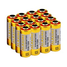 16pcs 12v 23a 23AE super alkaline primary & dry battery for safety items, controller, doorbell, alarm etc