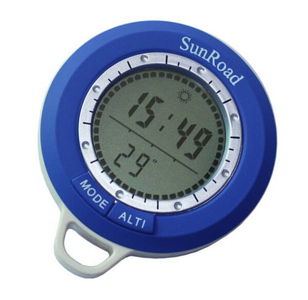 Multifunction digital altitude meter fishing barometer for Barometric pressure forecast for fishing
