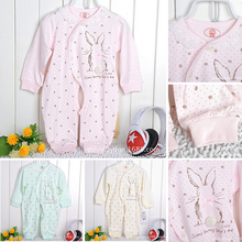 2014 Fall Autumn Baby Cotton Lace Romper  3 Colors Free Shipping(China (Mainland))