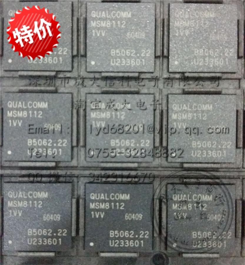 MSM8112 1VV Qualcomm1.2GHz four 4 snapdragon 200 processor CPU . Free Shipping(China (Mainland))