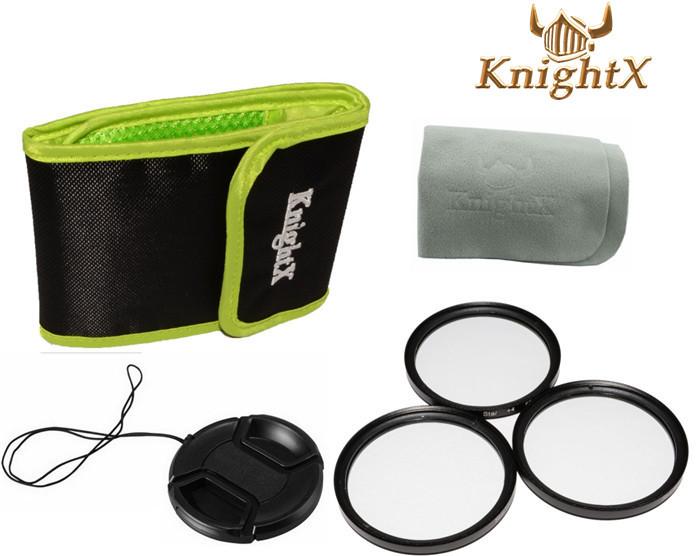 Star 4 6 8 Filter Point Line 52mm Filter Kit + Lens Cap for Nikon D5200 D3300 D3200 D3100 SLR Digital Camera DSLR KnightX F3(China (Mainland))
