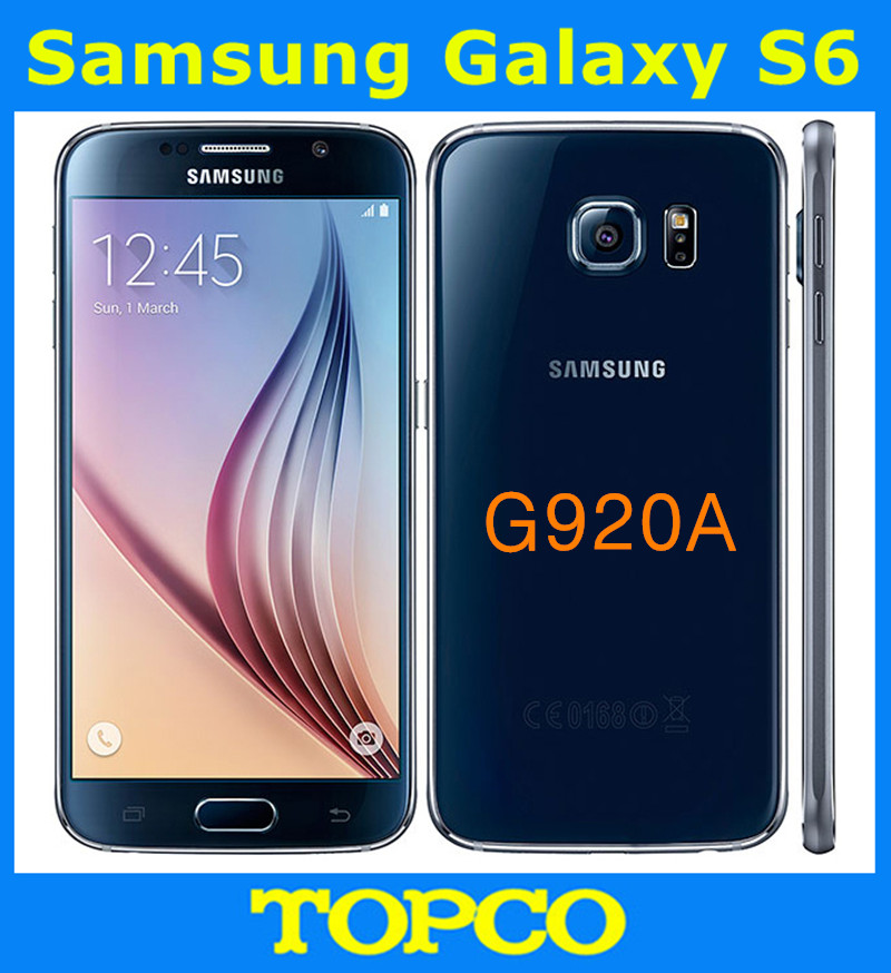 "Samsung Galaxy S6 G920A Original Android Mobile Phone 3GB RAM 32GB ROM Octa Core 16.0MP HD 5.1"" WIFI GPS Freeshipping(China (Mainland))"