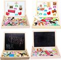 Cheap Multifunctional Writing Board Drawing Magnetic Boards Puzzle Double Easel Toys Free Shipping Suzie