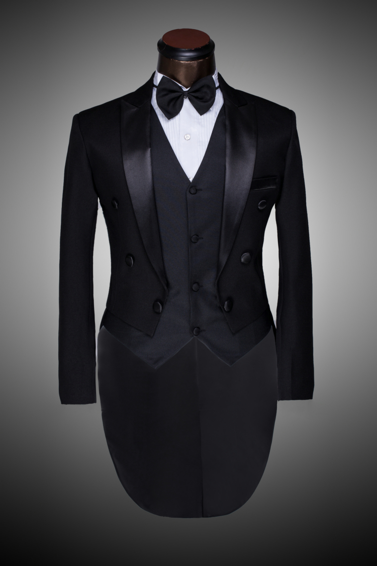 Male Custom Groom Prom Suit 2015 Mens Tuxedo Black And White Wedding Suits For Me