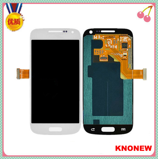 Replacement Glass LCD Display +Touch Screen Digitizer Assembly For Samsung Galaxy s4 mini I9190 i9195 White(China (Mainland))