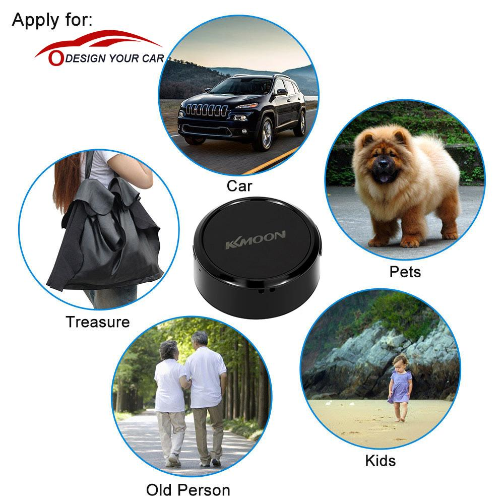Kkmoon Mini Portable SOS GPS Tracker Car Motorcycle Vehicle Auto 2G GSM GPRS Real Time Tracking Device for Children Elder Pet(China (Mainland))