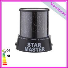 Romatic Gift Sky Star Master Cupid Cosmos Amazing Colorful Night Light Stars Lamp(China (Mainland))