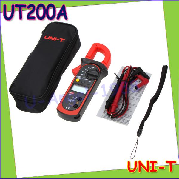 1pcs High Sensitivity Professional Multifunction UNI-T UT200A Modern Digital Clamp Meters w/ Data Hold &amp; LCD Backlight Wholesale<br><br>Aliexpress