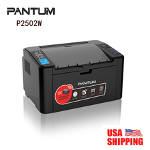 Hot Sale Pantum P2502W 22 ppm (A4) / 23 ppm (Letter) Monochrome High Speed USB 802.11b/g/n Wireless Laser Printer    (China (Mainland))