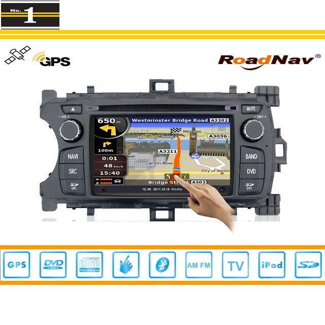 For Toyota Echo 2012~2013 - GPS Navigation System + Radio TV DVD BT iPod 3G WIFI HD Screen S100 Multimedia System(China (Mainland))