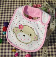 2015 New Cotton Baby Bib Infant Saliva Towels Baby Waterproof Bibs Newborn Wear Cartoon Accessories 3