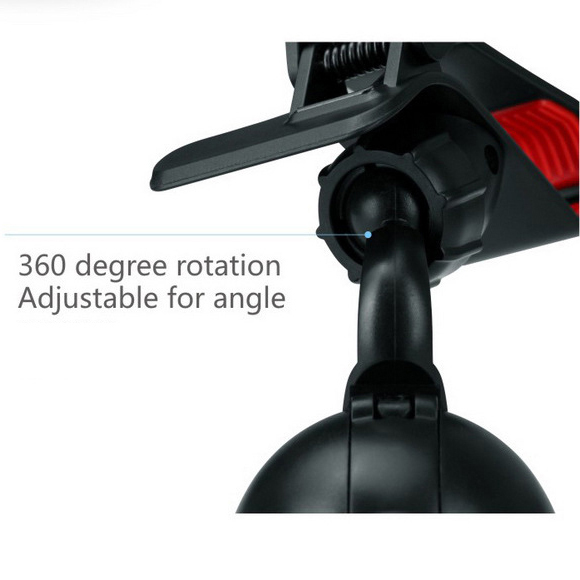 Hot Sale 360 Degree Rotating Car Mount Holder Stand Bracket for Mobile Phone GPS Mp3 Mp4