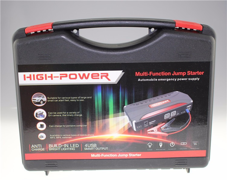 High Quality 12V Portable Mini Jump Starter 68800mAh Car Jumper Booster Power Bank for Petrol and Diesel(China (Mainland))