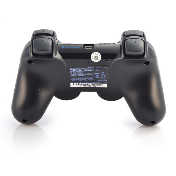 Wireless Bluetooth Game Controller SIXAXIS Joysticks Controller For Sony PS3 Controller for PS3 Playstation3 Black(China (Mainland))
