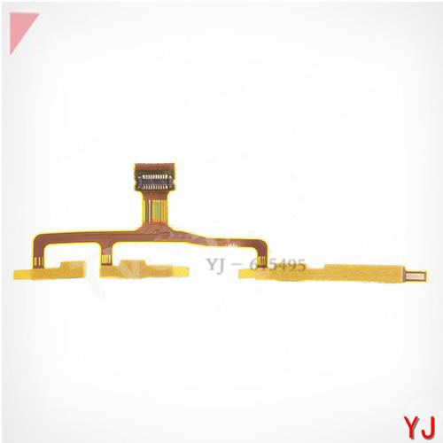 5 pcs/lot Original Side Key Flex Power On/Off Switch Flex Cable Ribbon Repair Parts for Sony Xperia ZL L35h C6503
