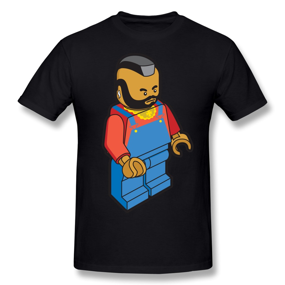 Casual mens t shirt mr t cool icons t shirts man in t for Cool mens casual shirts