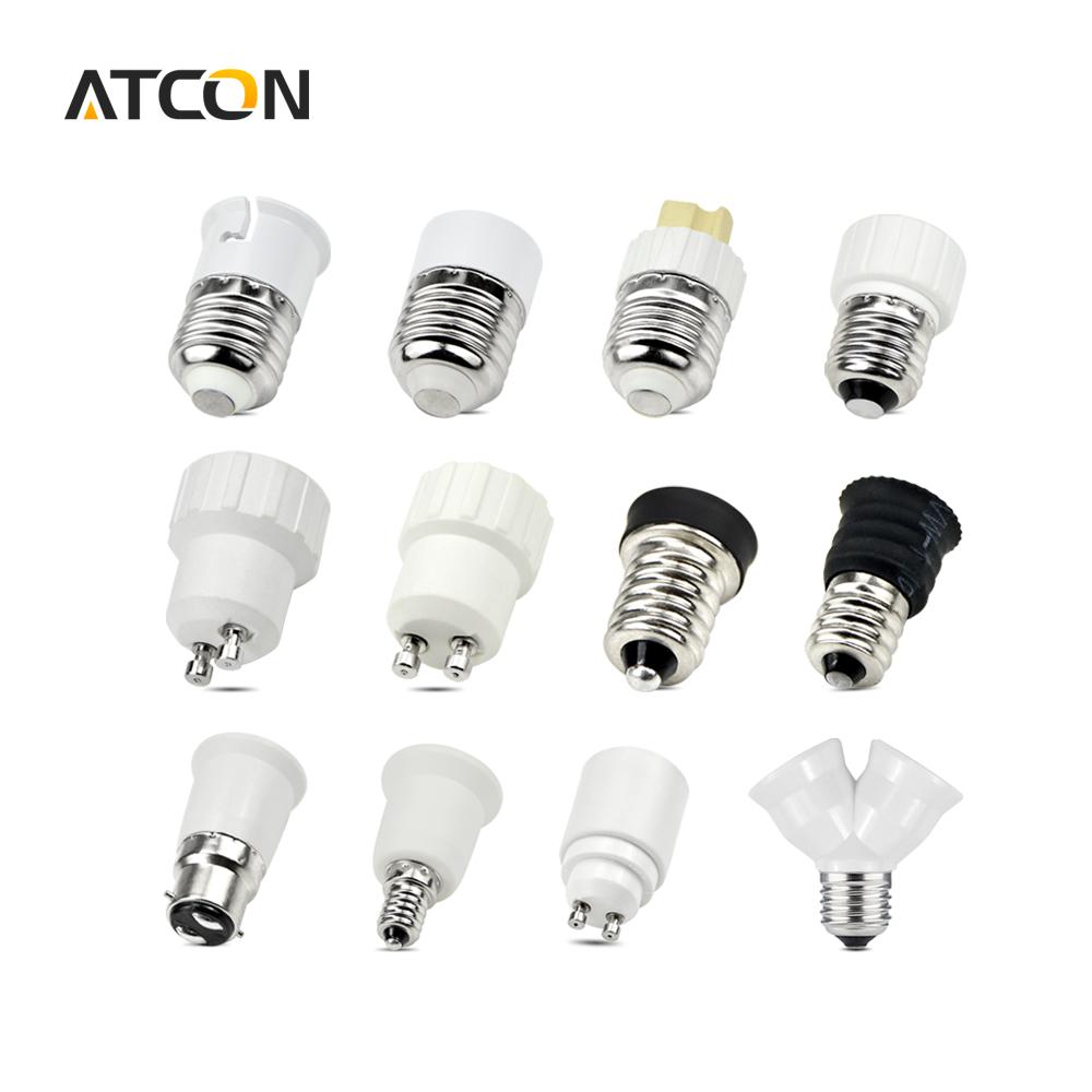 1Pcs E27 E14 GU10 G9 E12 B22 Base Mutual Conversion lamp Holders Converter Socket Adapter lampholders For LED Corn Bulb light(China (Mainland))