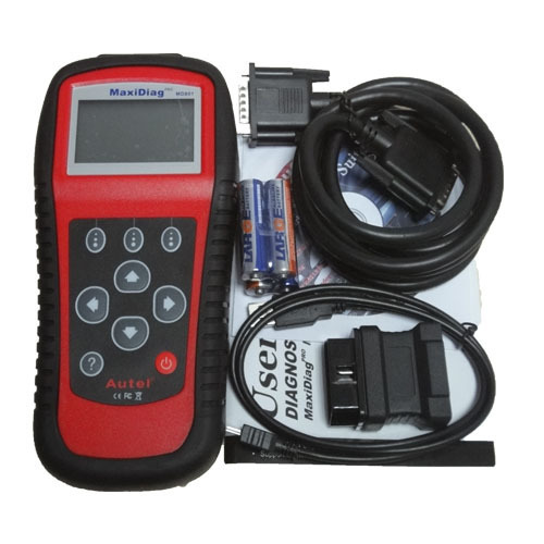 NEW Autel MaxiDiag PRO MD801 auto scanner 4 in 1 code reader md-801 (JP701+EU702+US703+FR704) MD 801 OBDII 2 Readers(China (Mainland))