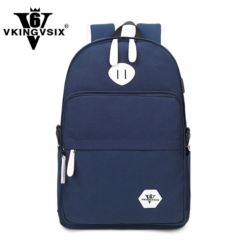 Fashion Backpacks Men Women Solid Preppy Style Soft Back Pack Unisex School Bags Big Capacity Bag Teenager girl &52