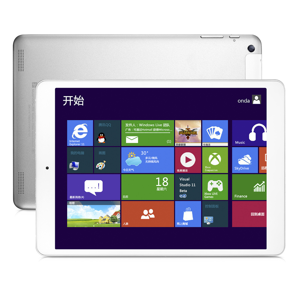 Onda V975W Window 8 1 Intel Z3735F Quad Core 9 7 IPS 2048 1536 2GB 32GB