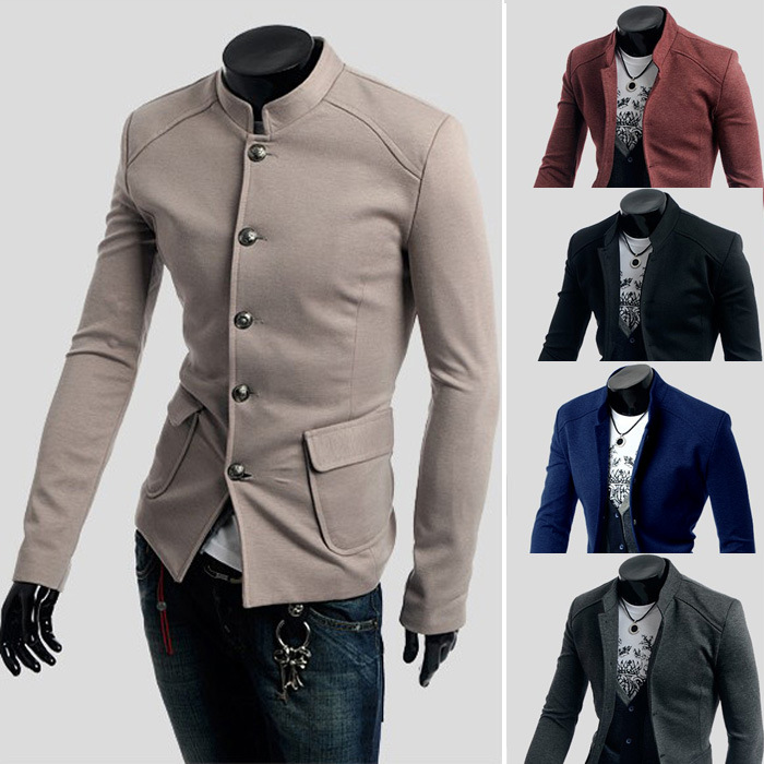 Мужской блейзер Men blazer Slim Fit мужской блейзер brand new m 3xl slim fit men casual blazers