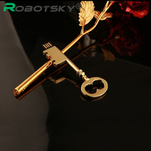 Mini tiny Metal Gold Key USB Flash Drive Pen Drive Pendrive 4GB 8GB 16GB 32GB Flash Memory Stick Drive U Disk(China (Mainland))