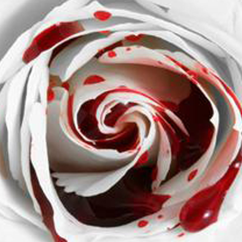 150 Seed Rarest White Blood Rose Plant Flower Seeds Flower Garden Asaka Rare True Blood Rose