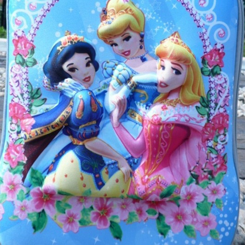 2015 Hot kids Fz 16 inch trolley Luggage Children Snow Queen Elsa case Travel Bags 18 images