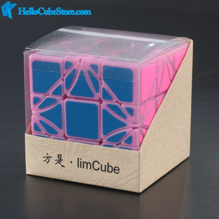 New Fangshi Funs Limcube Dreidel 3×3 Magic Dice Puzzle Black IQ Mind Cubos Magicos Puzzles Juguetes Educativos Particular Toys