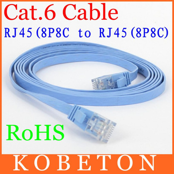 New 5M CAT6 RJ45 cable Flat UTP 10/100/1000Mbps Ethernet Network Cable For PC Router DSL Modem