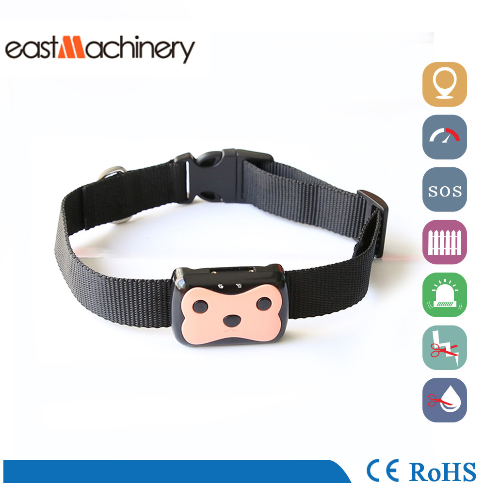 Mini Pet GPS Tracker GPS Dog Collar Waterproof Real Time Locator Tracker for Pets Dogs Cats(China (Mainland))