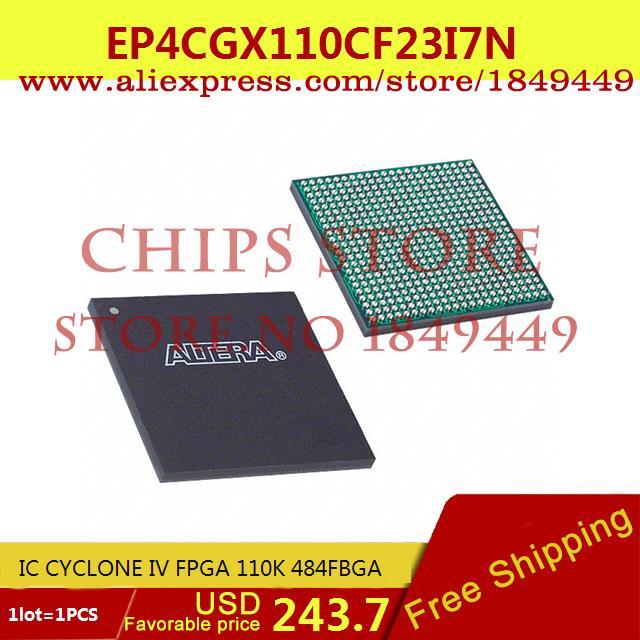 Здесь можно купить  Free Shipping Diy Integrated Circuits EP4CGX110CF23I7N IC CYCLONE IV FPGA 110K 484FBGA EP4 4C 1pcs  Электронные компоненты и материалы