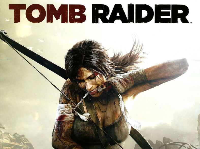 Lara Croft Bandage Wound Tomb Raider 9 Art Huge Print Poster TXHOME D7435(China (Mainland))
