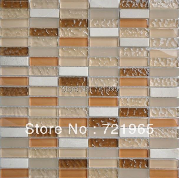 white stone tile glass mosaic kitchen backsplash wall tiles sgmt016