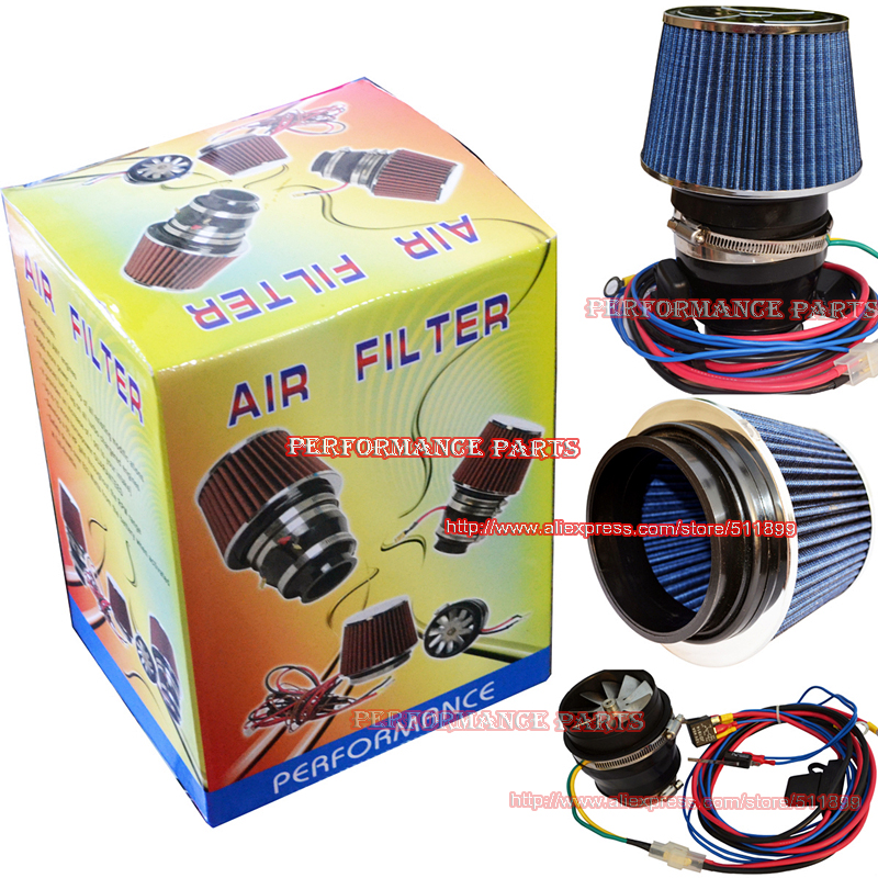 Supercharger Air Cleaner : Inch universal electric cold air intake supercharger