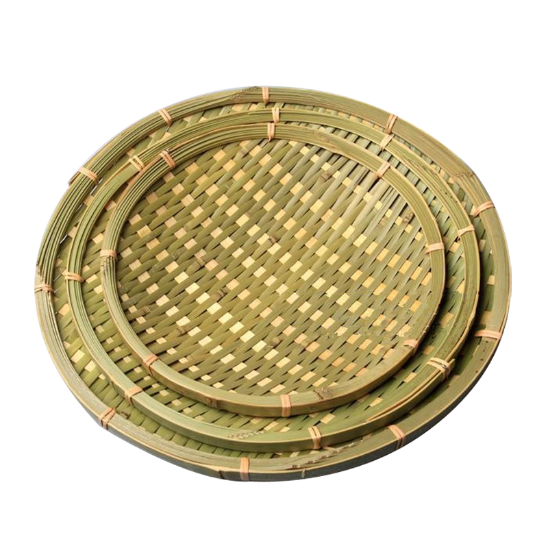 Fruit plate bowls bamboo basket delicatessens plate dustpan bamboo cage antique vintage decor handmade bamboo storage basket(China (Mainland))