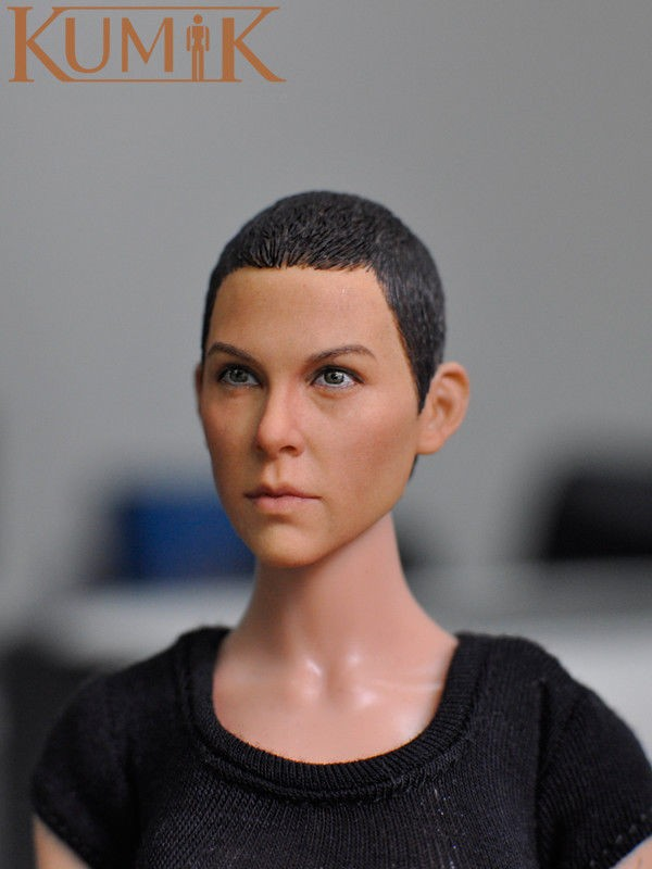 1/6 Headplay Determine Head Mannequin Feminine Head Sculpt Painted 15-23 for 12″ Motion Determine Assortment Doll Toys Equipment