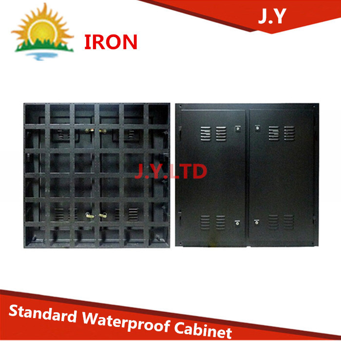 Outdoor Waterproof led display Shell Out case Cabinet Size 960 x 960mm P10, P16,P20(China (Mainland))