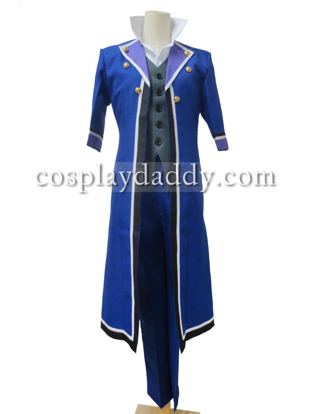 Japanese Anime K Project Saruhiko Fushimi Cosplay Costumes new outfit