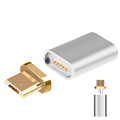 Metal Micro USB Magnetic Charging Data Adapter Converter For Sasmung S4 S6 S7 Edge HTC Xiaomi