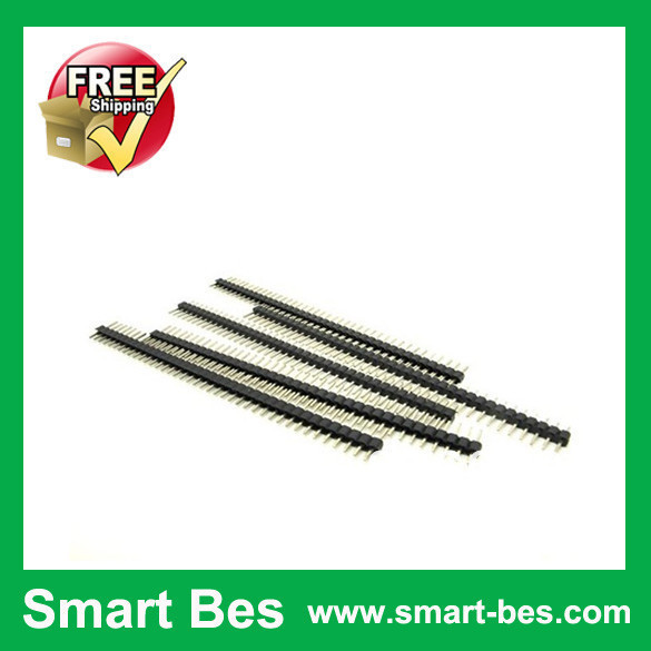 HOT!!~Smart Bes! 20 2mm 40pin Single Row Male Pin Header Copper ROHS connector electronic components - Shenzhen S-Mart Electronics Co., Ltd~ 24hour fast shipping~ store