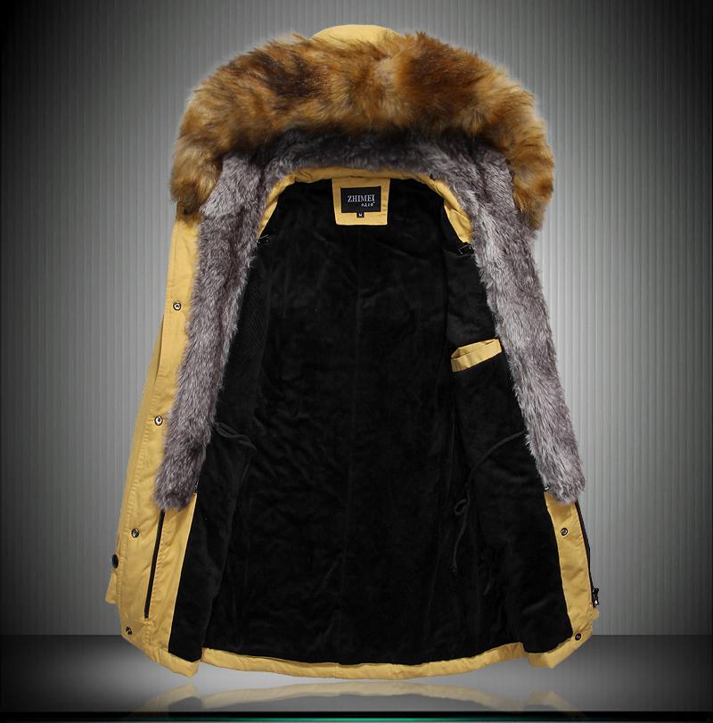 2015 Military Parka Fashion Brand Men s Sports Snow Mens Winter Coats Free Shipping Mens Parka