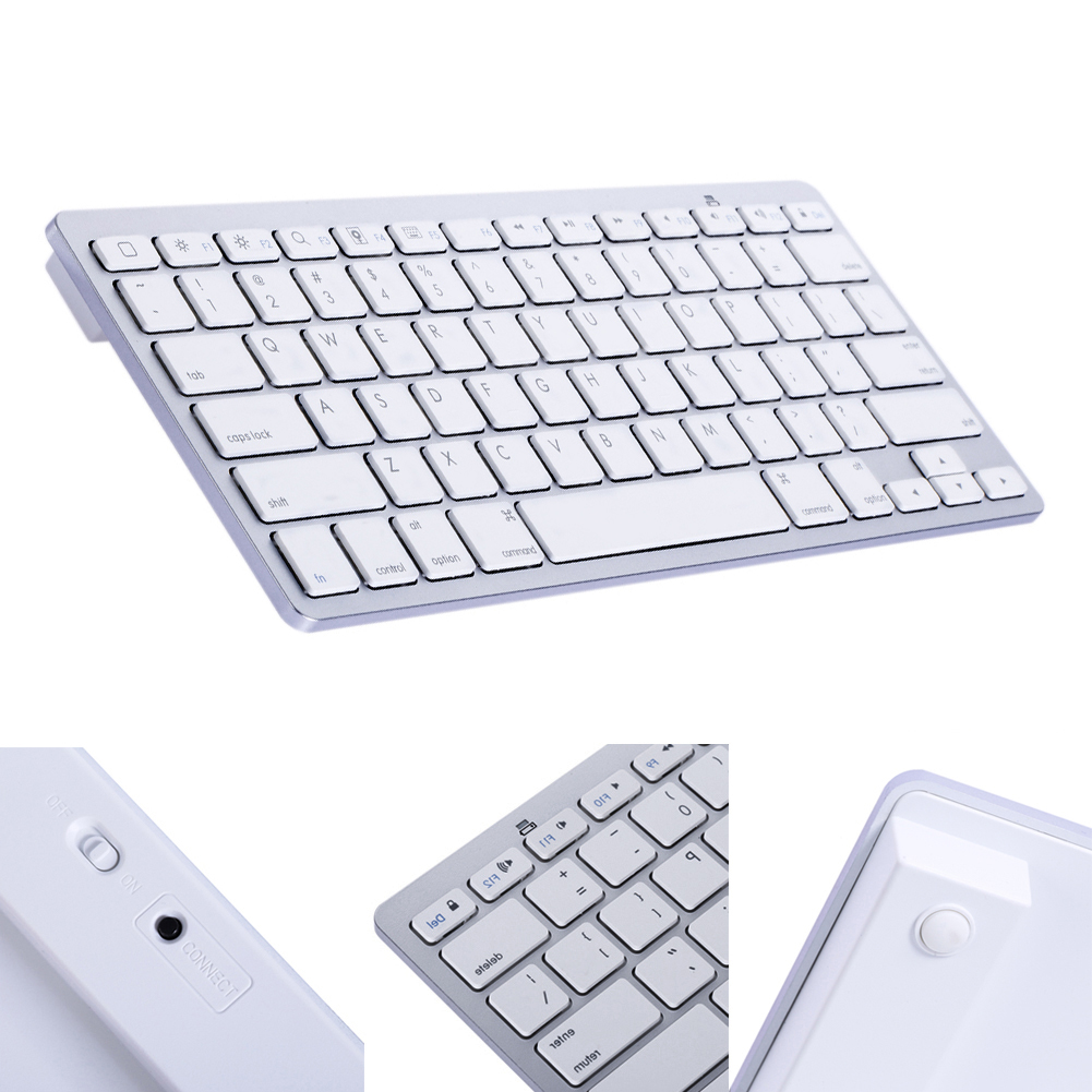 Mini Wireless Bluetooth Keyboard Aluminum Ultra Slim Mini Wireless Bluetooth Keyboard for Windows Android IOS PC Smart Phones(China (Mainland))