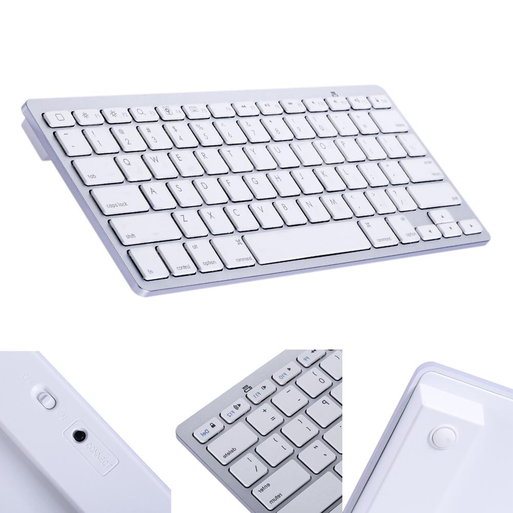 Mini Wireless Bluetooth Keyboard Aluminum Ultra Slim Mini Wireless Bluetooth Keyboard for Windows Android IOS PC Smart Phones(China (Mainland))