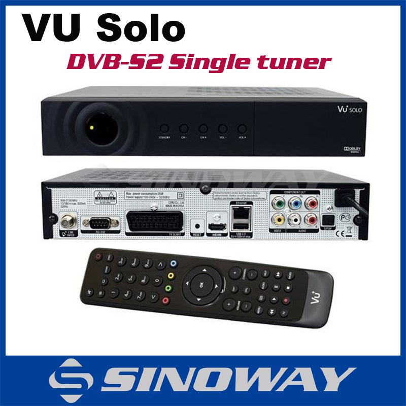 Vu SOLO Vu+ solo HD Satellite Receiver Linux system DVB-2s dvb-s tuner optional high quality decoder Enigma 2(China (Mainland))