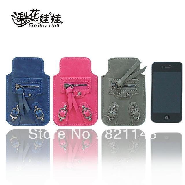 Pear doll locomotives phone package Apple 4 phone package iphone4 4S Mobile the package phone sets Q023